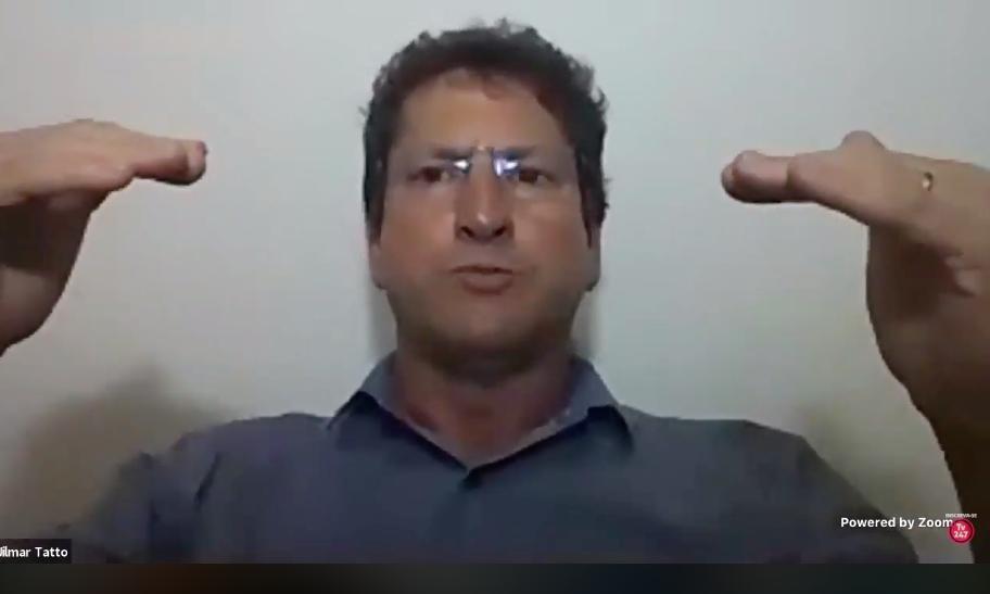 Jilmar Tatto participa de debate sobre Covid 19 x São Paulo com as deputadas Leci Brandão e Isa Penna
