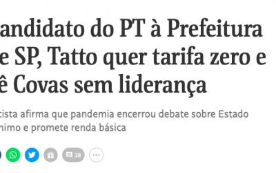 Leia a íntegra da entrevista de Jilmar Tatto à Folha de S. Paulo