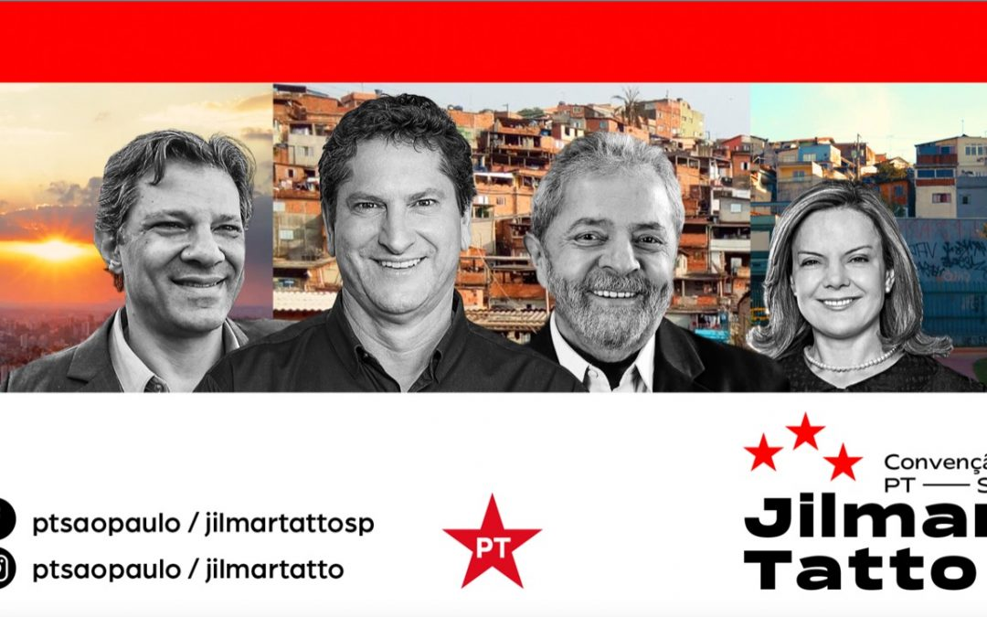 AO VIVO: lançamento da candidatura de Jilmar Tatto a prefeito de SP
