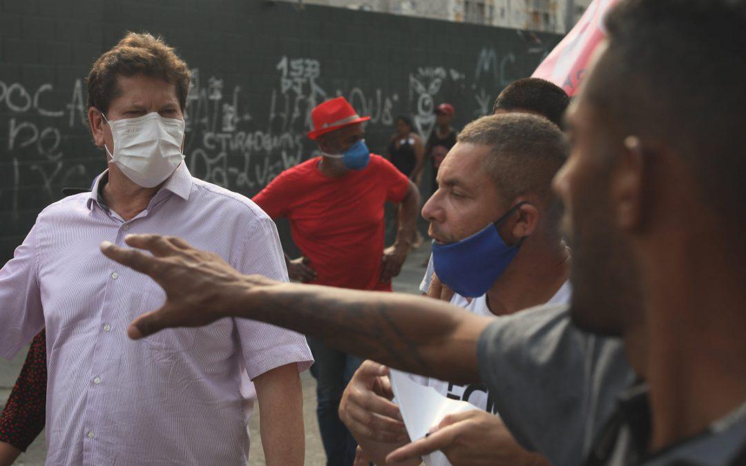 Por dignidade e respeito, população da Cracolândia quer a volta do programa De Braços Abertos